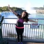 Dayana at Niagara Falls