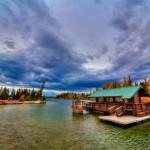 Jenny Lake Boat Dock at Grand Teton National Park