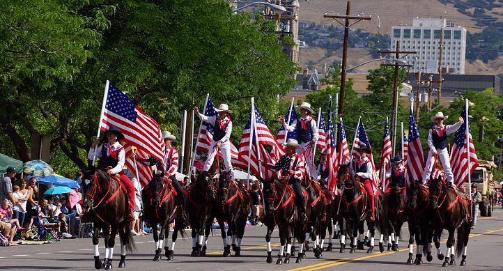 Солт Лейк Сити, ежегоден парад