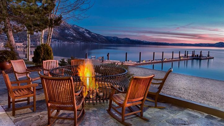 Lake-Tahoe-Hyatt-Regency-Resort-sunset