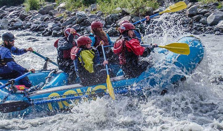 Rafting-in-Alaska